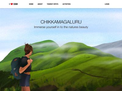 i love ckm website concept