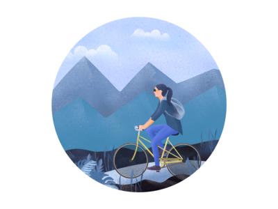 Illustration for I love Chikkamagaluru website