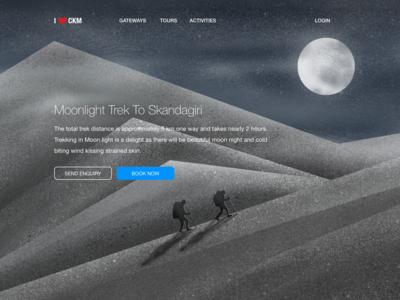 Moonlight trek