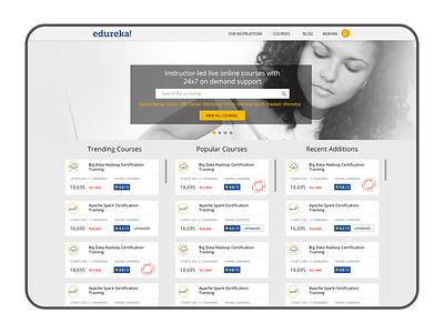 edureka web app education web design web user interface ui