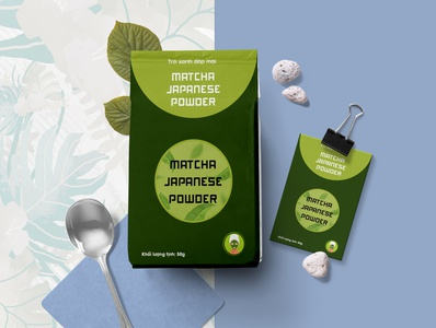 Packaging _Matcha Japanese Power