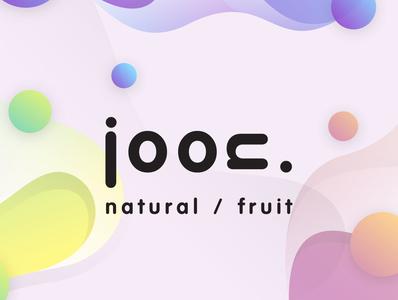 Joon natural/fruit Shop icon vector branding design logo illustration