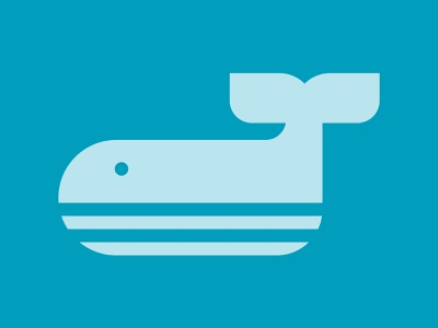 Day 311 brand identity designer flipper large swimming water animal aquatic animal whale logo whales whale logo designer brand design logos graphic design logo design brand identity logo adobe illustrator cc branding adobe illustrator
