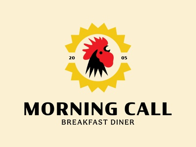 Day 328 diner breakfast club rooster logo rooster homemade fresh foodie breakfast brand and identity brand identity designer logo designer brand design logos graphic design logo design brand identity logo adobe illustrator cc branding adobe illustrator