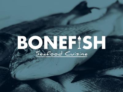 Day 387 fisherman ocean charter delicious cuisine seafood restaurant seafood sea fish bone logo designer brand design logos graphic design logo design brand identity logo adobe illustrator cc branding adobe illustrator