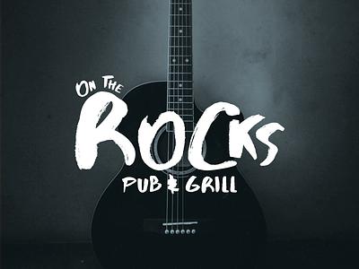 Day 400 pub music art musician grunge texture grunge music logo bar logo bar branding rock music music logo designer brand design logos graphic design logo design brand identity logo adobe illustrator cc branding adobe illustrator