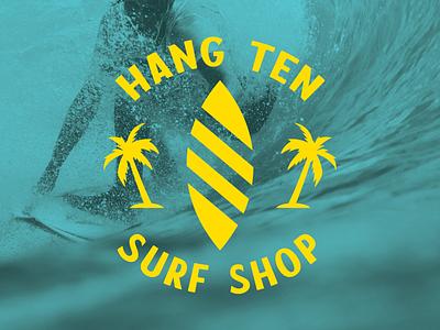 Day 404 logo designs logo design concept brand identity design palm tree waves billabong beach surfing surf brand identity designer logo designer brand design logos graphic design logo design brand identity logo adobe illustrator cc branding adobe illustrator