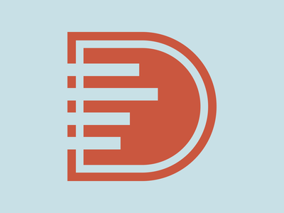 Day 410 logo design concept lettermark muted colors bold lines corporate design brand identity designer letters type snowboard logo designer brand design logos graphic design logo design brand identity logo adobe illustrator cc branding adobe illustrator