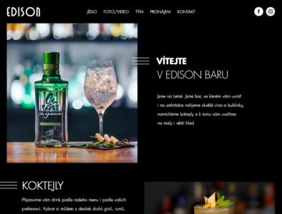 Edison bar website