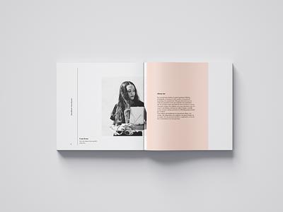 Brandbook Irene Morant lettering art type illustration minimal flat photoshop visual design typography photography logo illustrator graphicdesign branding design editorial
