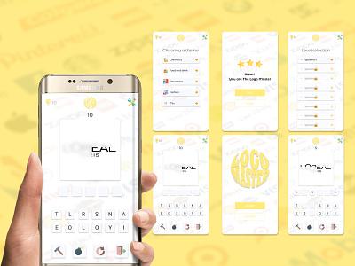 """Мобильная игра """"Logo Master"""" logo design logo game интернет-магазин mobile app design webdesign ux ui"""