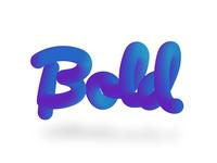 Bold 3d