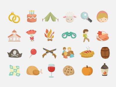 Pioneer App Icons