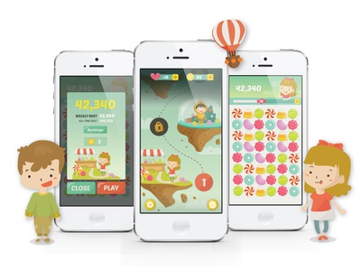 Candy Smasher iOS Game