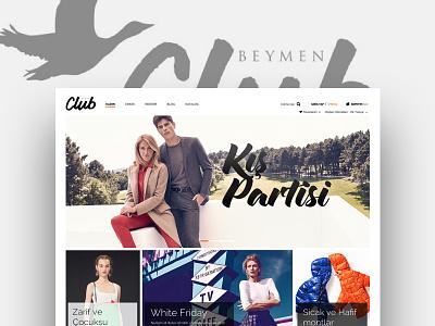 Beymen Club / E-Commerce online shop web design beymen fashion responsive e-commerce