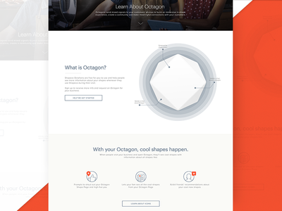 Cool Shapes sweet new cool red triangle square shapes octagon product ui web