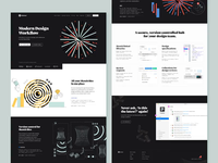 Abstract — Homepage Scroll