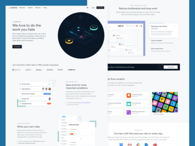 Automation — Landing page