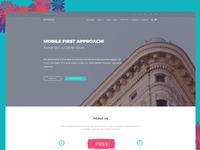 Numero  - Free Corporate HTML5 Website Template