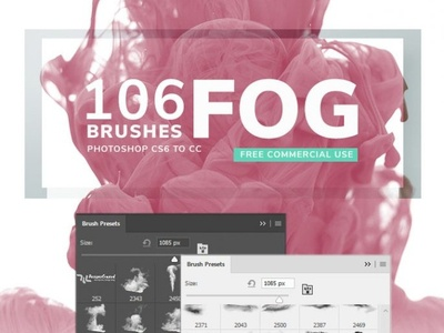 Fog Photoshop Brushes smoke fog foggy photoshop brush photoshop paint free freebies commercial brushpen brush