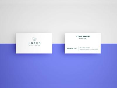 Simple card mockup - free Psd