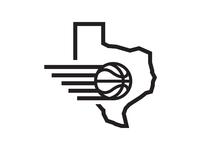 Texas Hoops print typography logo design screenprint tshirt hoops basketball texas logo