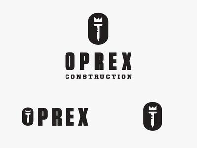 Oprex Construction Logo #2