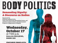 Body Politics Flyer