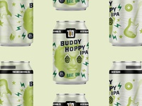 Two Docs Brewing Buddy Hoppy IPA