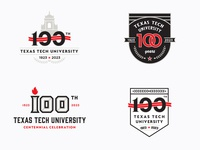 Texas Tech University Centennial Logos