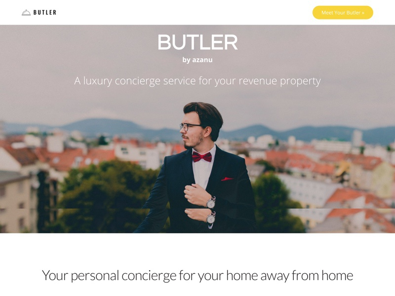 Butlerapp Website web