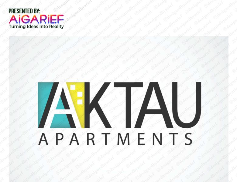 AKTAU Logo Design branding adobe photoshop updated kazakhstan logo design 2020 graphic design adobe illustrator awesome design