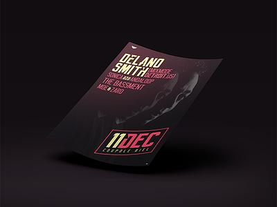 Delano Smith @ Coupole Biel A2 Poster poster a2 smith delano lab pleasure