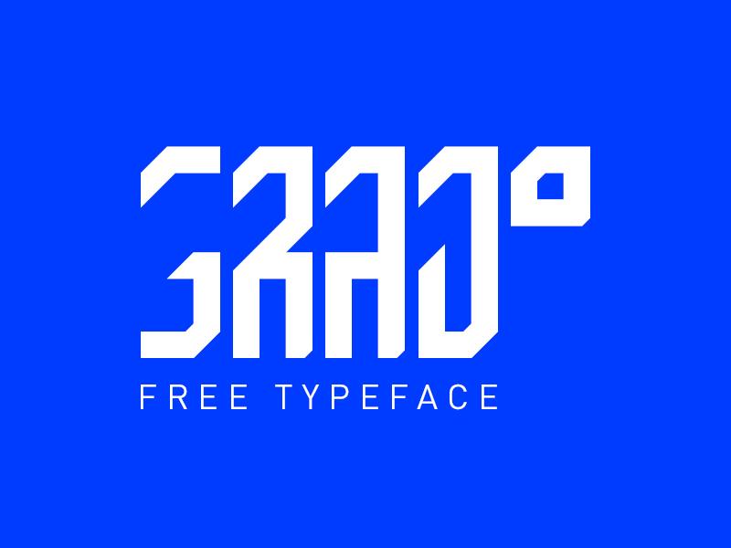 GRAD Free Typeface berlin fontdesign typedesign grad typografie typography font typeface type free