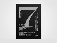 7 Years Pleasurelab A2 Poster