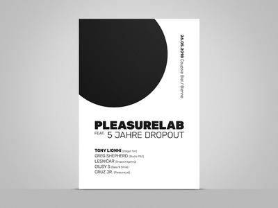 Pleasurelab feat. 5 Jahre Dropout A2 Poster