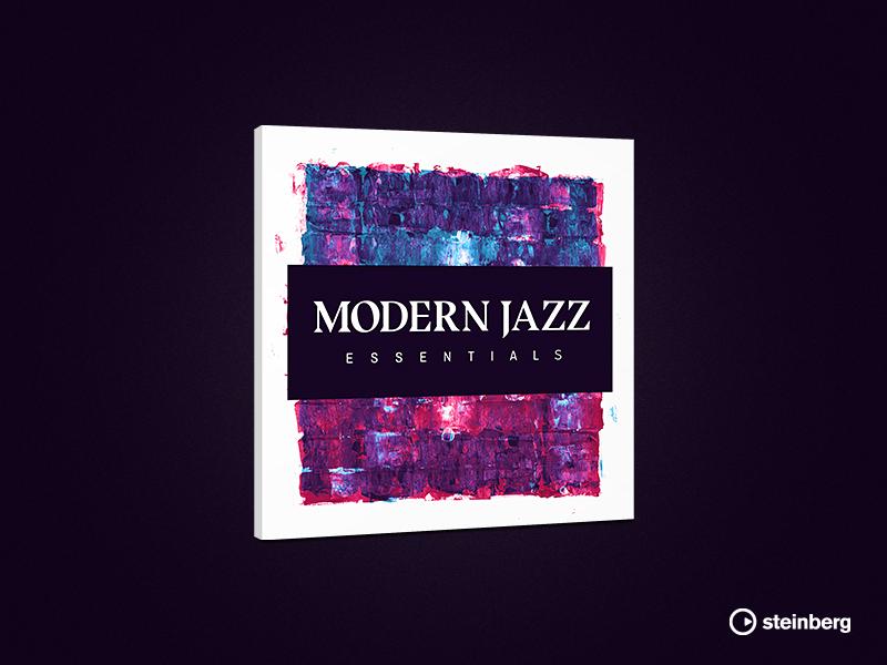 steinberg | Modern Jazz Essentials plugin vst sound samples verpackung packaging jazz modern audio steinberg