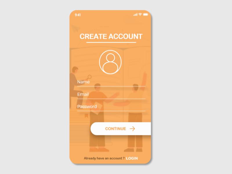 Share a Book ui app