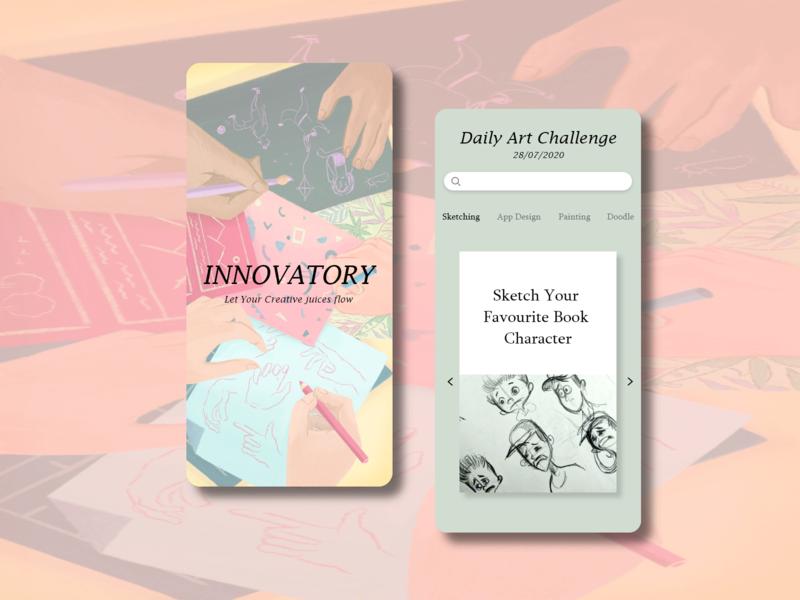 Innovatory design ux app ui