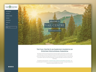 Vail Centre Website colorado vail responsive web website