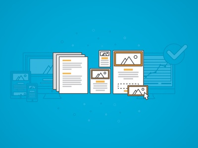UI Blog Cover ui blog illustration