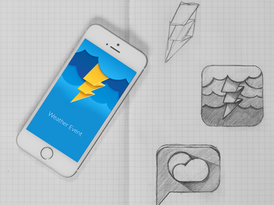 Weather Event App event weather app icon
