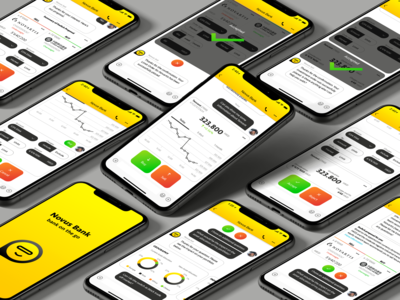 Conversational Banking ui form ui charts bank ui mobile ui flat ui chatbot