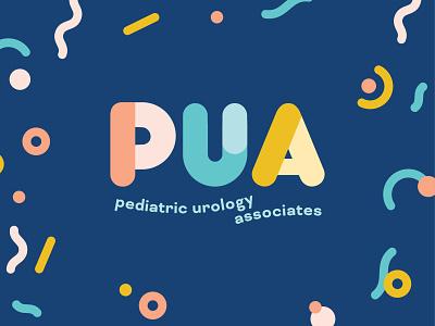 Pediatric Urology: Logo medical doctor brand identity logo design design branding
