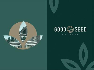 Good Seed Capital: Graphics real estate cannabis illustration logo brand identity logo design design branding