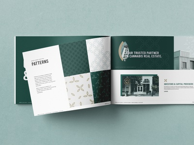 Good Seed Capital: Brand Book real estate cannabis brand guidelines brand book design branding