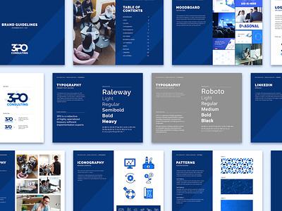 3PO Consulting: Brand Book software treasury consulting finance brand guidelines brand book brand identity design branding
