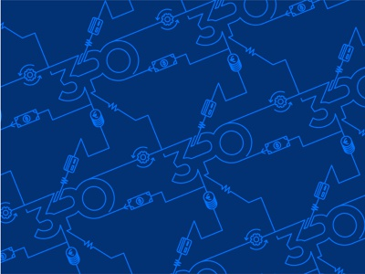 3PO Consulting: Pattern Design vector illustration finance treasury corporate blue branding flat pattern design pattern