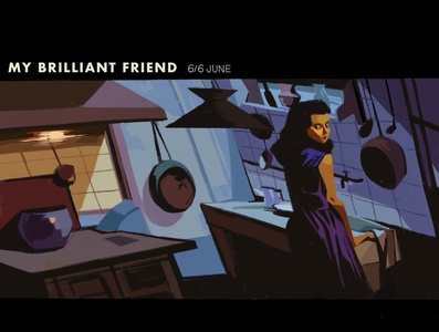 My Brilliant Friend 01 movie illustration