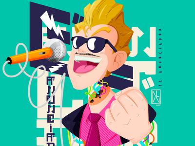 Dragon Ball Z World Tournament Announcer